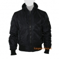 Куртка Top Gun MA-1 With Hoodie Black