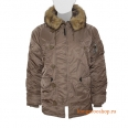 Куртка Alpha Industries N-3B Parka Coyote Brown