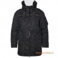Куртка Alpha Industries N-3B Down Parka Jacquard Black Camo